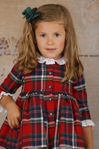 3476a0067 Moda infantil. Tienda online Niña - Vestidos Colección Invierno Lapeppa